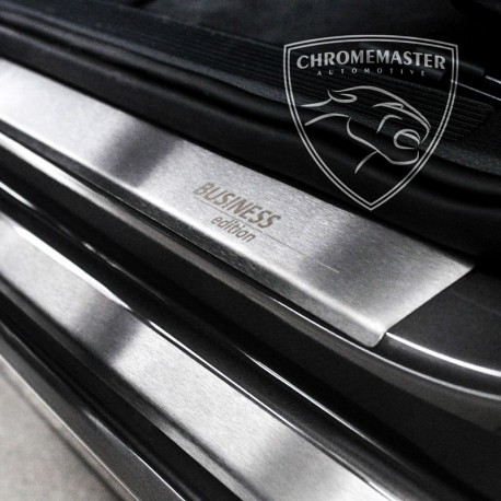 Nakładki progowe Matt + grawer Peugeot 206+