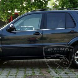 Listwy pod szyby boczne Mercedes W163