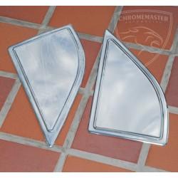Nakładki na trójkąty luster Nissan Navara III D40