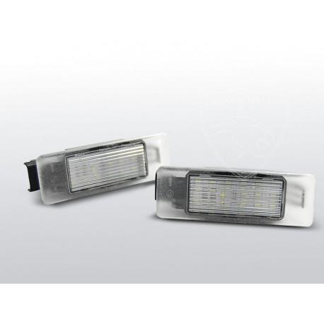 Podświetlenie Rejestracji Led Peugeot 307 Chromemaster Automotive