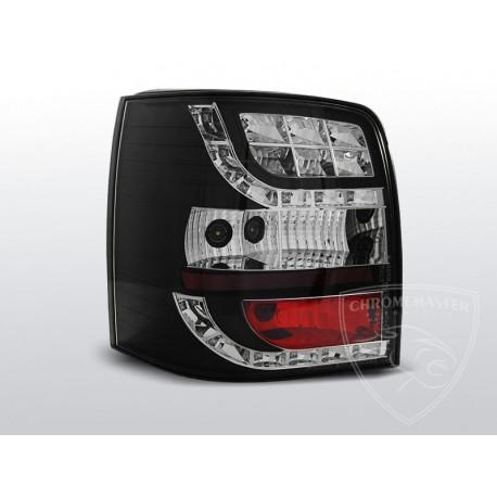 Lampy Tylne Black Led Volkswagen Passat B5 Fl Kombi Chromemaster Automotive