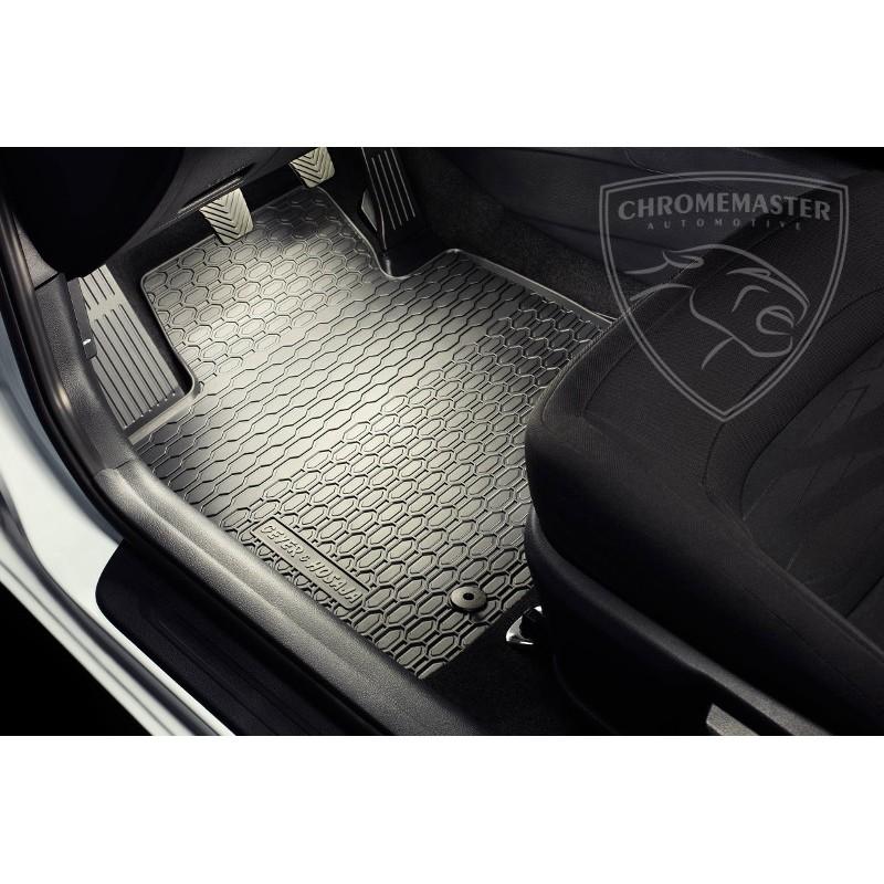 Dywaniki Gumowe Czarne Geyer Seat Ibiza Iv Chromemaster Automotive
