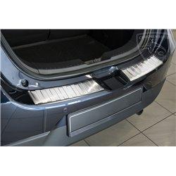 Nakładka z zagięciem na zderzak (stal szczotkowana) Mazda 2