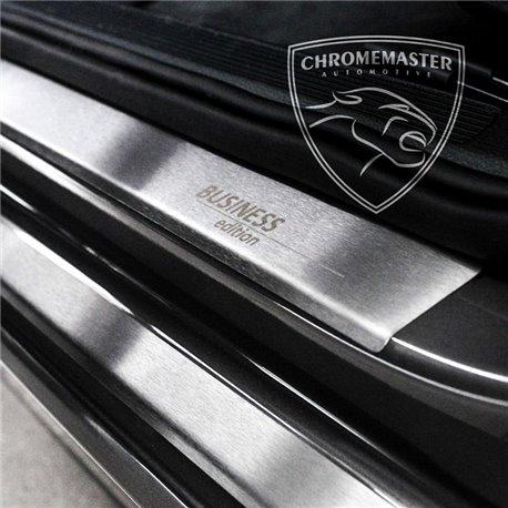 Nakładki progowe Matt + grawer Opel Astra IV