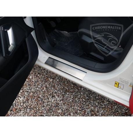 Nakładki progowe (stal) Peugeot 308 II