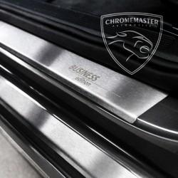 Nakładki progowe Matt + grawer Peugeot 407