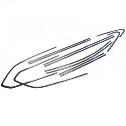 Listwy wokół szyb bocznych Opel Astra IV