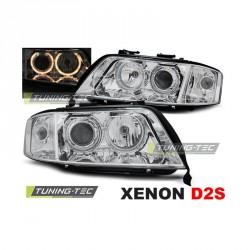 Lampy przednie Audi A6 C5 Xenon