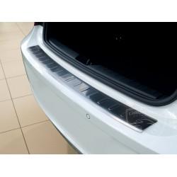 Nakładka z zagięciem na zderzak (stal szczotkowana) BMW 1 F20 5DR
