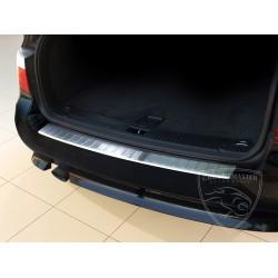 Nakładka z zagięciem na zderzak (stal szczotkowana) BMW 5 E61 TOURING