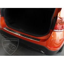 Nakładka z zagięciem na zderzak (stal szczotkowana) BMW X1 E84