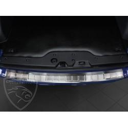 Nakładka z zagięciem na zderzak (stal szczotkowana) Dacia DOKKER 5d