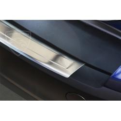 Nakładka z zagięciem na zderzak (stal szczotkowana) Ford FOCUS III Turnier Kombi