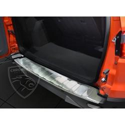 Nakładka z zagięciem na zderzak (stal szczotkowana) Ford EcoSport II