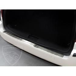 Nakładka z zagięciem na zderzak (stal szczotkowana) Ford MONDEO MK3 Kombi