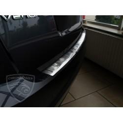 Nakładka z zagięciem na zderzak (stal szczotkowana) KIA Venga 5d Hatchback
