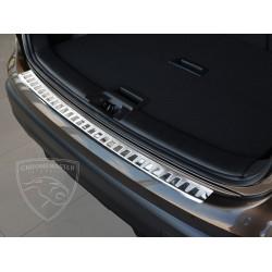 Nakładka z zagięciem na zderzak (stal szczotkowana) Nissan QASHQAI II