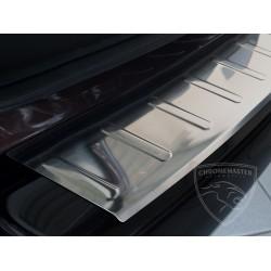 Nakładka z zagięciem na zderzak (stal szczotkowana) Opel ASTRA IV J Sports Tourer Kombi