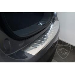 Nakładka z zagięciem na zderzak (stal szczotkowana) Toyota Avensis III Kombi