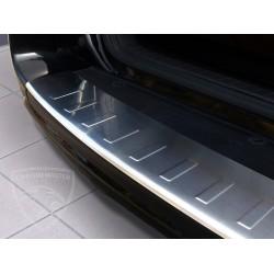 Nakładka z zagięciem na zderzak (stal szczotkowana) Toyota RAV 4