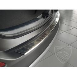 Nakładka z zagięciem na zderzak (stal szczotkowana) Toyota Rav4 IV