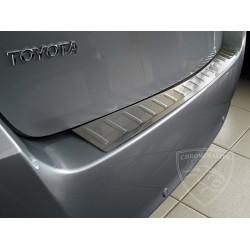 Nakładka z zagięciem na zderzak (stal szczotkowana) Toyota VERSO 5d
