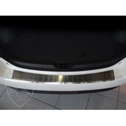 Nakładka z zagięciem na zderzak (stal szczotkowana) Toyota VERSO Minivan