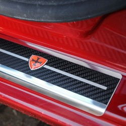 Nakładki progowe Carbon Look Chevrolet Aveo I