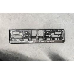 Podkładka z tworzywa ABS pod tablice rejestracyjną