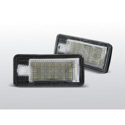 Podświetlenie rejestracji LED Audi A8 D3