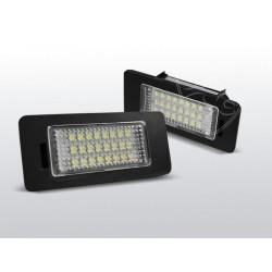 Podświetlenie rejestracji LED Audi A4 B8