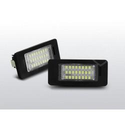 Podświetlenie rejestracji LED BMW E70