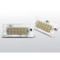 Podświetlenie rejestracji LED BMW X3 E83