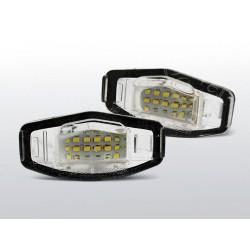 Podświetlenie rejestracji LED Honda City IV