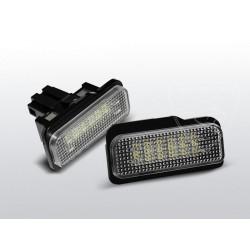Podświetlenie rejestracji LED Mercedes CLS W219