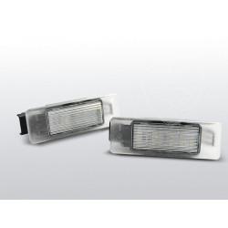 Podświetlenie rejestracji LED Peugeot 307