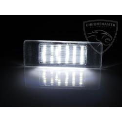 Podświetlenie rejestracji LED Peugeot 407