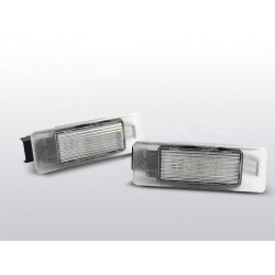 Podświetlenie rejestracji LED Citroen C4
