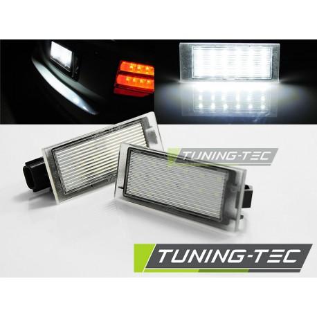 Podświetlenie rejestracji LED Renault Megane II