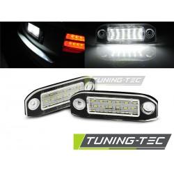 Podświetlenie rejestracji LED Volvo C30