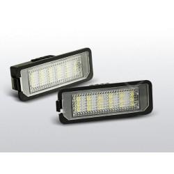 Podświetlenie rejestracji LED Volkswagen Polo IV