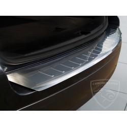 Nakładka profilowana z zagięciem na zderzak (stal szczotkowana) VW TOUAREG I