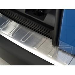 Nakładka profilowana z zagięciem na zderzak (stal szczotkowana) VW CADDY