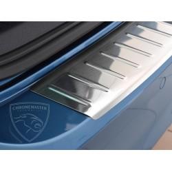 Nakładka z zagięciem na zderzak (stal szczotkowana) VW GOLF VII Kombi