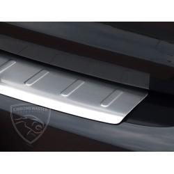 Nakładka z zagięciem na zderzak (stal szczotkowana) VW GOLF VI 5D