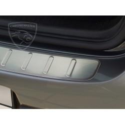 Nakładka z zagięciem na zderzak (stal szczotkowana) VW GOLF V 5D