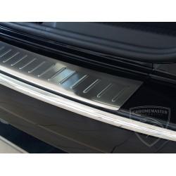 Nakładka profilowana z zagięciem na zderzak (stal szczotkowana) Renault Clio Iv GRAND TOUR