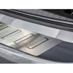 Nakładka z zagięciem na zderzak (stal szczotkowana) Opel Meriva B