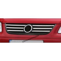 Listwy atrapy przedniej Volkswagen Caddy III Life