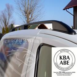 Relingi dachowe Elegance Czarne Volkswagen Caddy III Short